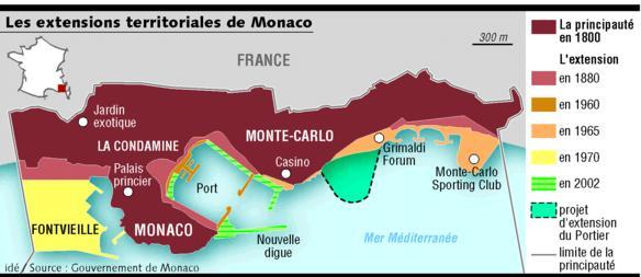 ampliamenti Principato di Monaco