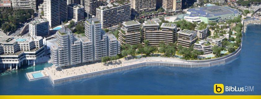 Il Principato Di Monaco Si Ampliera Nuovamente Verso Il Mare I Progetti Di Renzo Piano E Fuksas Biblus Bim