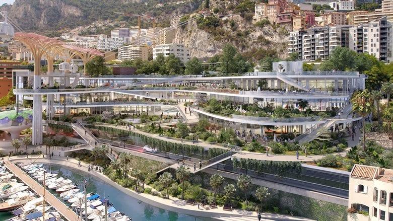 ampliamenti Principato di Monaco progetto fuksas