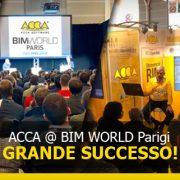 ACCA-BIM WORLD Paris 2019