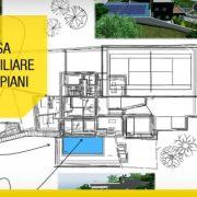 Casa unifamiliare a due piani