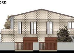 Casa bifamiliare | Prospetto principale lato Nord