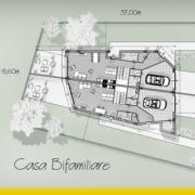 Progetto di casa bifamiliare
