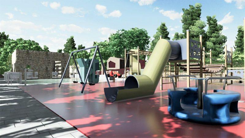 Progettazione di un parco giochi: attrezzature ludiche
