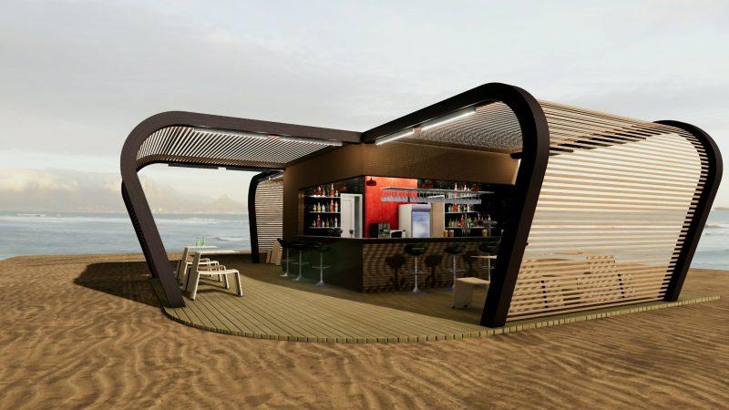 progetto di un chiosco bar - 004