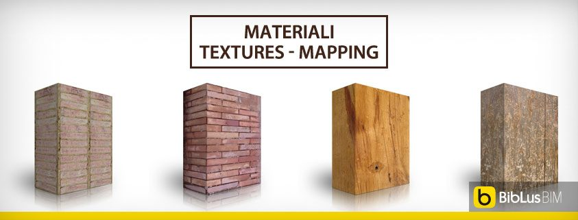 Materiali textures – mapping