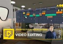 video editing -presentare il progetto architettonico