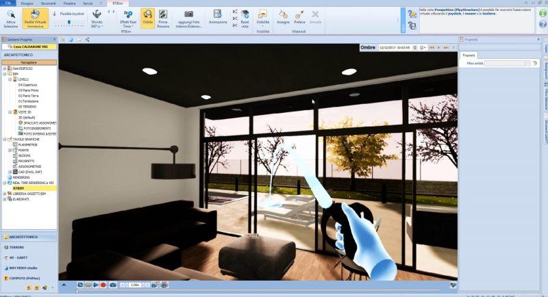 realtà virtuale per l'architettura - Edificius