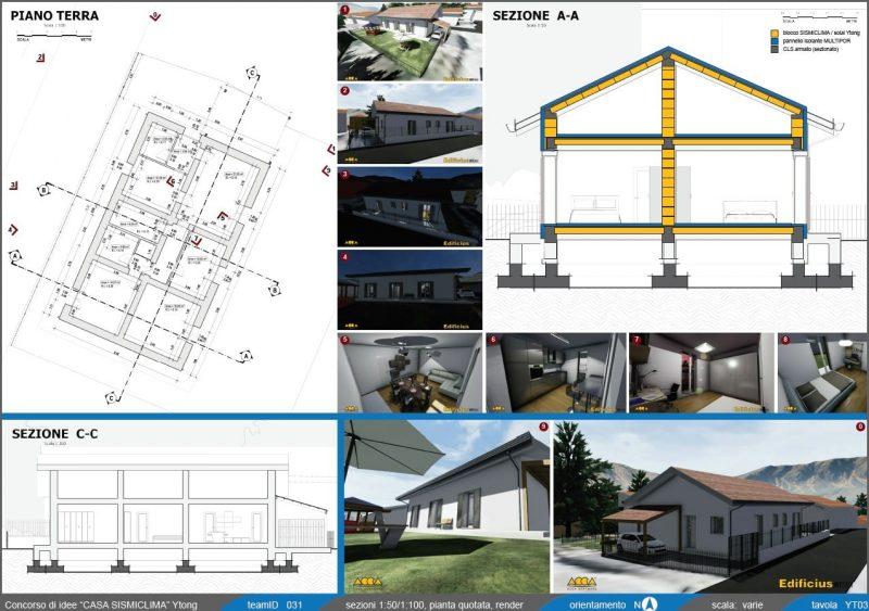 concorso Casa SismiClima 2019 - progetto vincitore