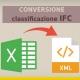 conversione Classificazione-IFC- in xml