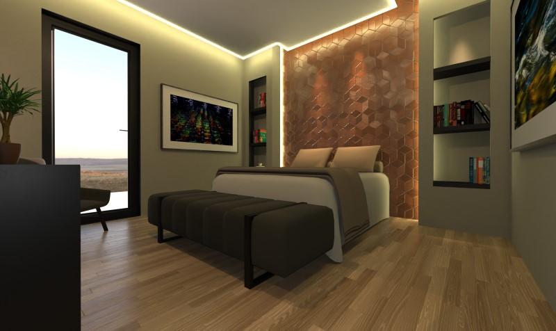 Camera da letto con bagno e cabina armadio-tipo 1