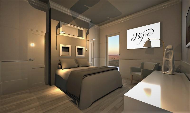 Camera da letto con bagno e cabina armadio-tipo 2