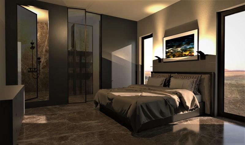Camera da letto con bagno e cabina armadio-tipo 3