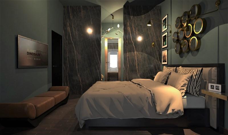 Camera da letto con bagno e cabina armadio-tipo 5