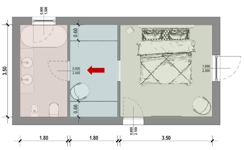 Camera da letto-Tipo 5