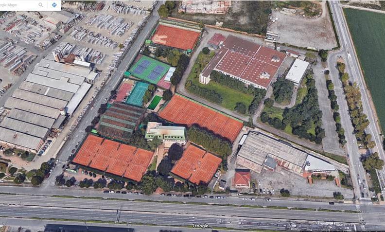 Monviso-Sporting-Club Immagine dall alto