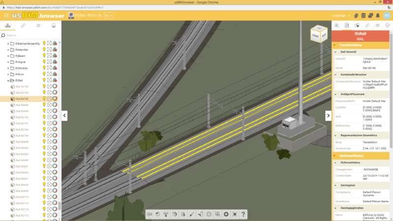 ifc rail caricamento piattaforma