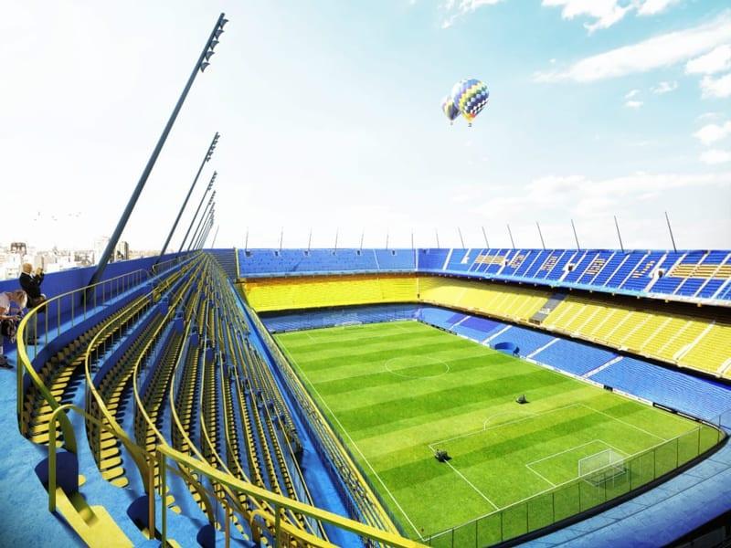 Lo stadio di Buenos Aires