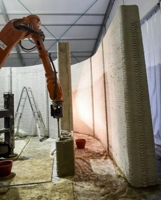 principali tendenze nelle tecnologie per le costruzioni - casa stampata in 3D