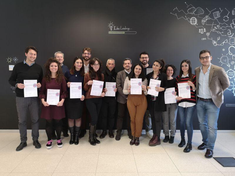 """Gli 11 professionisti che hanno conseguito la """"Qualifica Individuale"""", in ambito BIM, di buildingSMART International"""