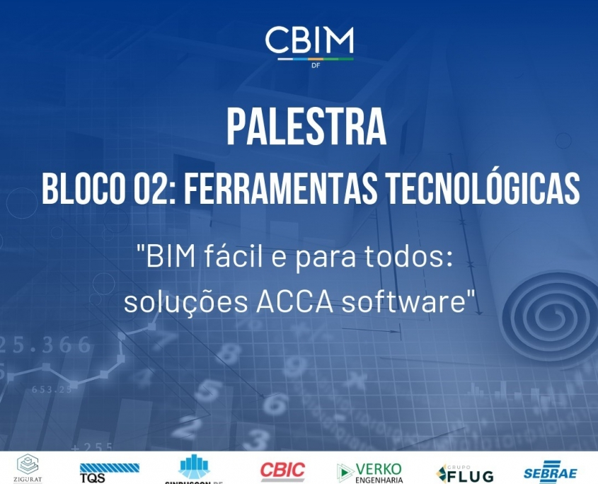 Immagine che mostra il manifesto della conferenza tenuta da ACCA in occasione del BIM DAY a Brasilia