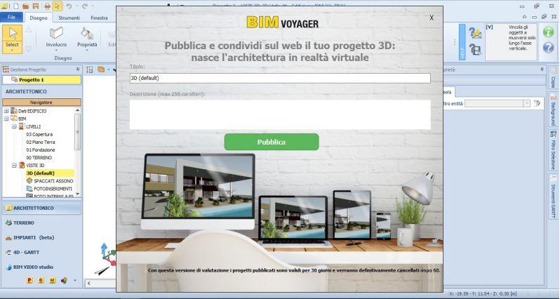 Immagine che mostra BIM VOYAGER | La piattaforma per condividere e far visualizzare online i tuoi modelli BIM