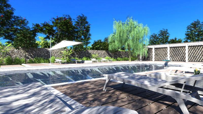 edificius render piscina