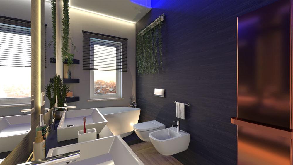 bagno render edificius