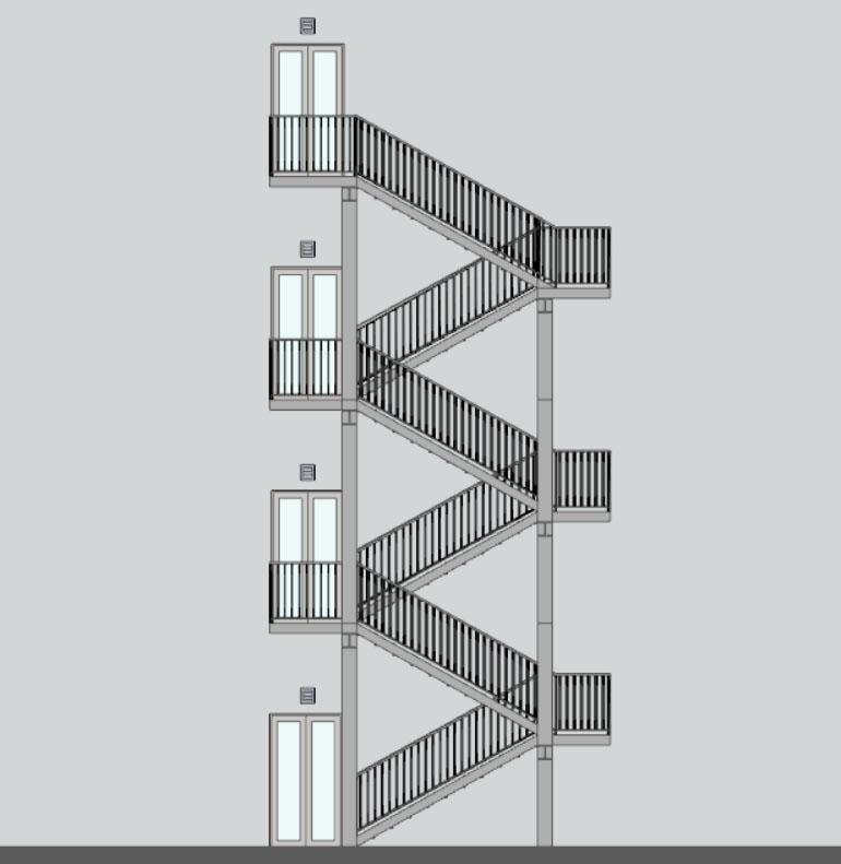 Come progettare le scale antincendio