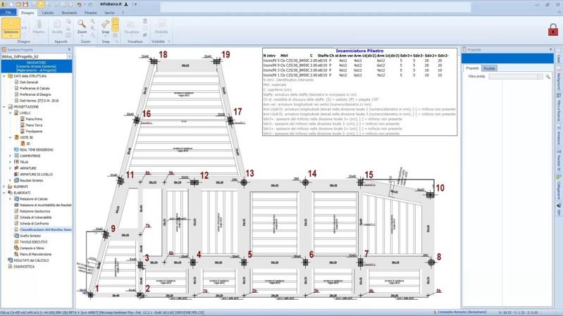 Sismabonus110 caso pratico progettato con EdiLus tavola esecutiva