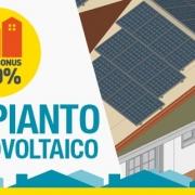 Superbonus progetto impianto fotovoltaico