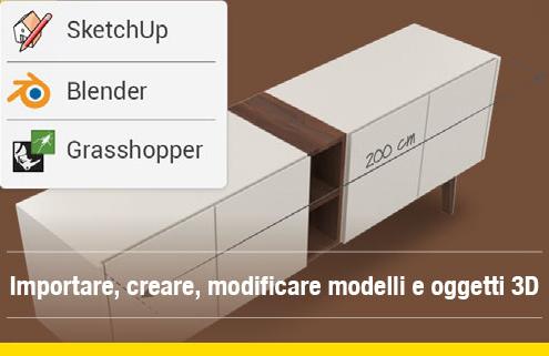 Import oggetti modelli 3D