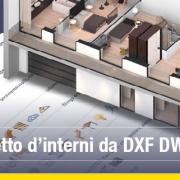 progetto interni 2D e 3D