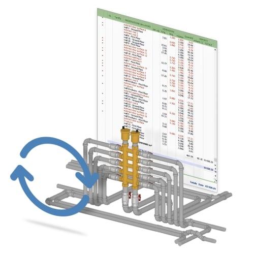 progetto impianto idraulico - computo metrico