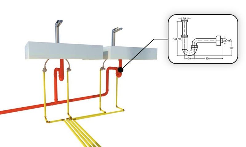 progetto impianto idraulico - proprietà oggetti MEP idraulico