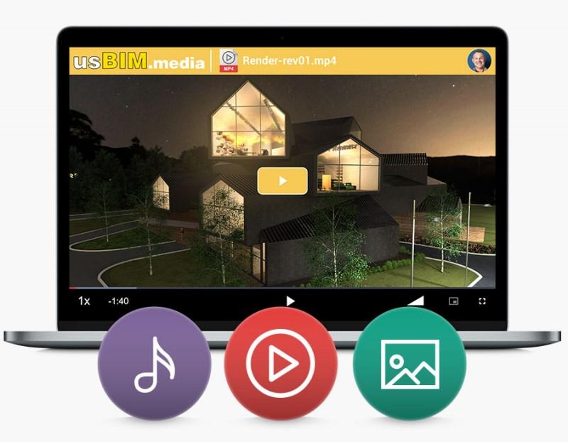 usBIM.media - app gratuite per la gestione dei progetti di costruzione