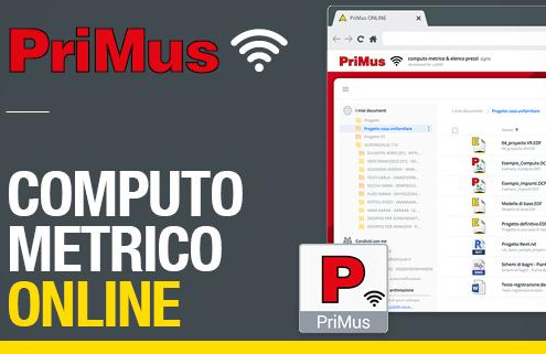 Computo metrico online con PriMus