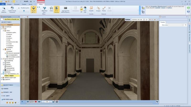 I vantaggi del BIM nella conservazione di un edificio storico: il caso pratico di San Pietro in Vinculis