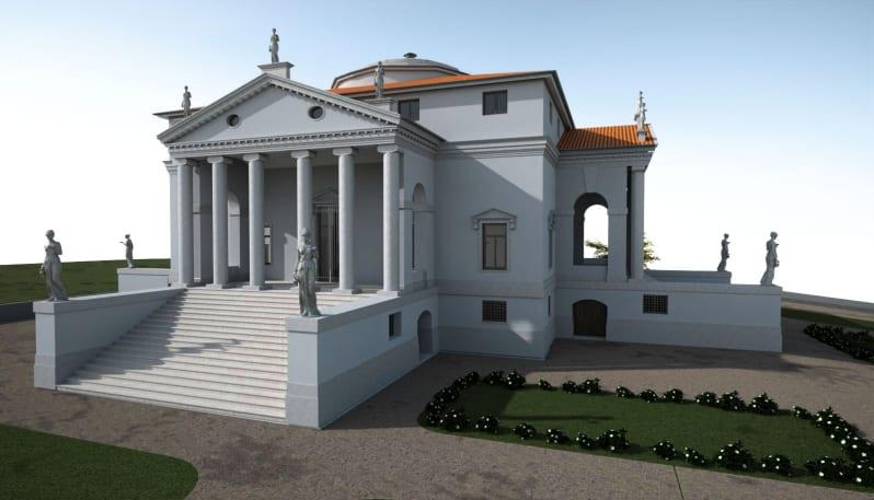 Modello HBIM realizzato con Edificius
