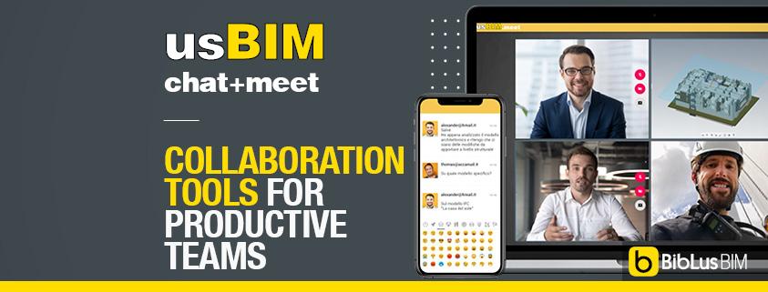 usBIM.chat e usBIM.meet BIM collaboration tools