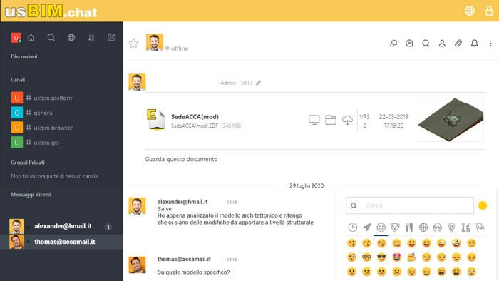 collaborative working tools - usbim.chat