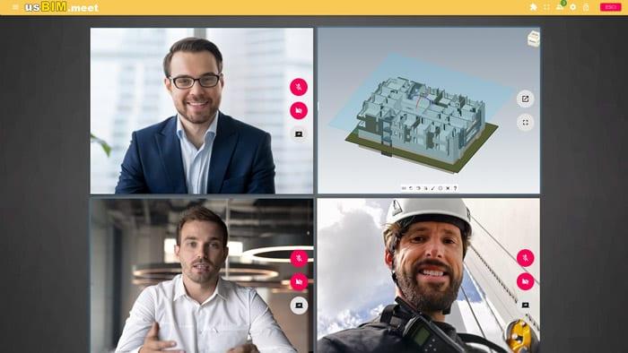 collaborative working tools - usbim.meet