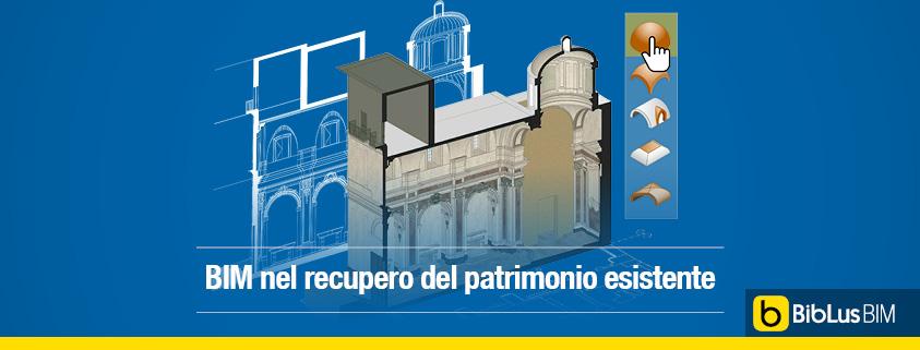 vantaggi del BIM nella conservazione di un edificio storico