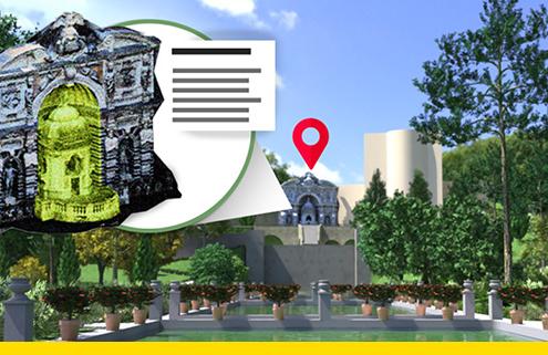 Il BIM per la gestione di parchi e giardini storici