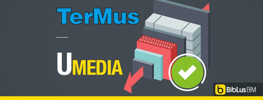 Verifica trasmittanza media con TerMus