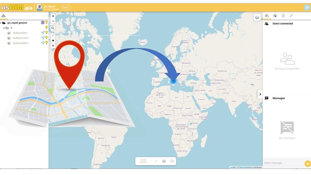 come aprire un file GeoJSON con usBIM.gis