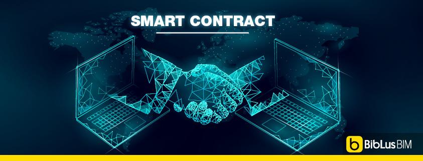 immagine che schematizza cos'è uno smart contract