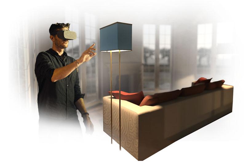 usBIM.reality navigare online in realtà virtuale i modelli BIM