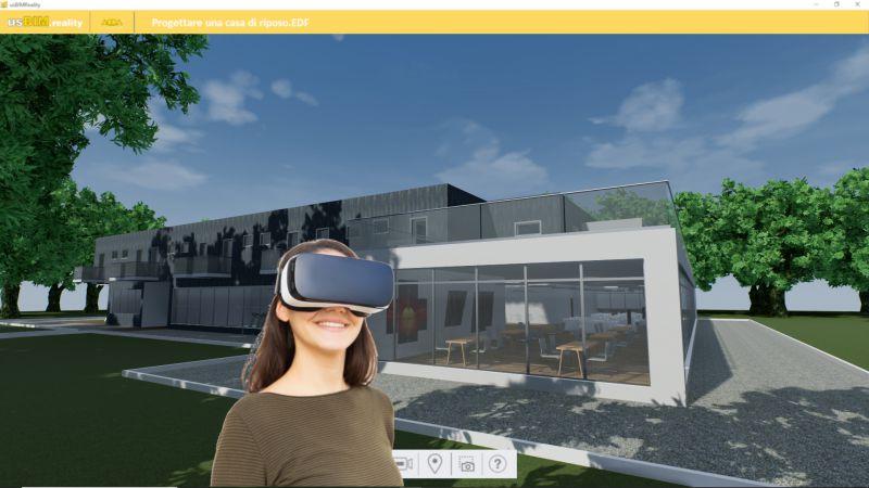 usBIM.reality_visualizzare il progetto in prima persona