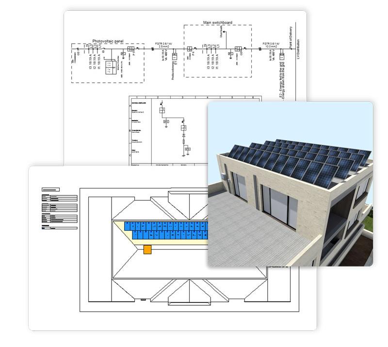 modellazione impianto fotovoltaico - solarius-pv